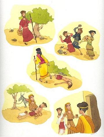 Parabole : Le Bon Samaritain